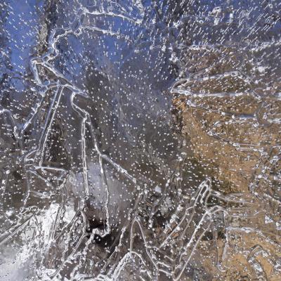 Feuilles de glace