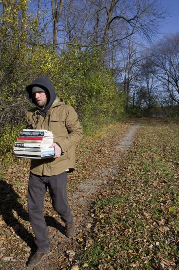 Walking with Books about Walking Art